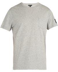Belstaff - New Thom Pocket Crew-neck Cotton T-shirt - Lyst
