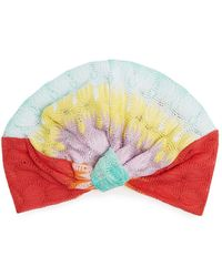Missoni - Fish-scale Knitted Turban Hat - Lyst