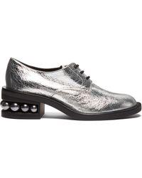 Nicholas Kirkwood - Casati Pearl Heeled Derby Shoes - Lyst