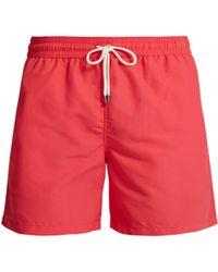 Polo Ralph Lauren - Short de bain à broderie logo - Lyst