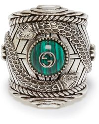 Gucci - Large Garden Ring - Lyst