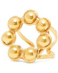 Sylvia Toledano - Studded Circle Ring - Lyst