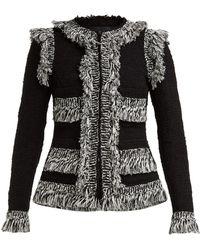 Giambattista Valli - Veste en tweed de coton à boutonnage simple - Lyst