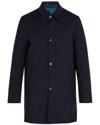 Paul Smith - Detachable-lining Wool-blend Coat - Lyst