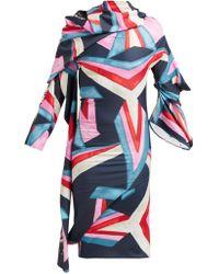 MATTY BOVAN - Structural Printed Dress - Lyst