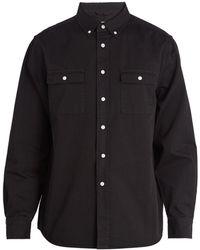 Saturdays NYC - Angus Button-down Collar Cotton Shirt - Lyst