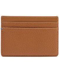 Smythson - Burlington Grained-leather Cardholder - Lyst