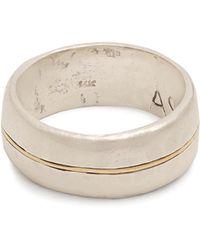 Aris Schwabe - Silver N Gold Sterling-silver Ring - Lyst