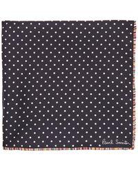 Paul Smith - Polka Dot-print Silk Pocket Square - Lyst