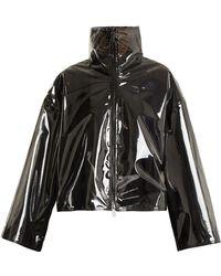 Valentino - Translucent Zip Through Jacket - Lyst