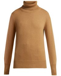 Burberry - Lockeridge Roll Neck Cashmere Blend Sweater - Lyst