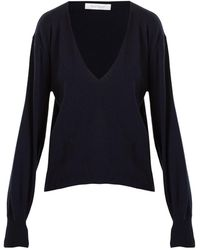 Ryan Roche - Deep V-neck Cashmere Sweater - Lyst