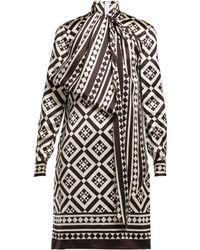 Mary Katrantzou - Abstract Print Dress - Lyst