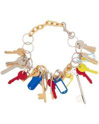 Balenciaga - Key Charm Necklace - Lyst