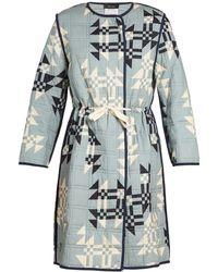 Isabel Marant - Leist Geometric-print Tie-waist Coat - Lyst