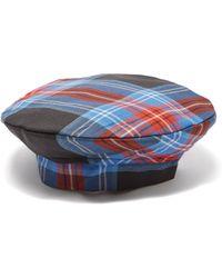 CHARLES JEFFREY LOVERBOY - Tasmania Tartan Wool Beret Hat - Lyst