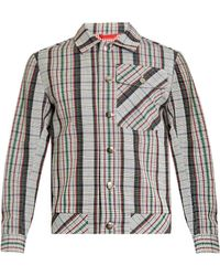 Orley - Max Checked Wool Jacket - Lyst