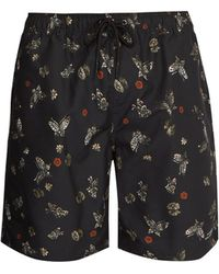 Saturdays NYC - Timothy Laquer Butterfly-print Swim Shorts - Lyst