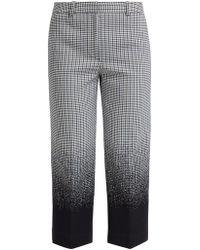 Erdem - Preston Cropped Cotton Blend Trousers - Lyst