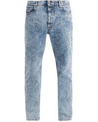 Maison Margiela | Marble Straight-leg Jeans | Lyst