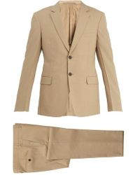 Prada - Two-button Single-breasted Wool Suit - Lyst