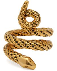 Aurelie Bidermann - Tao 18kt Gold Plated Ring - Lyst