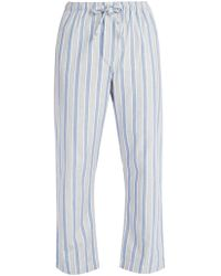 Derek Rose - Cotton Pyjama Trousers - Lyst