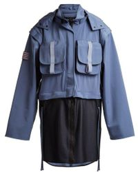 Charli Cohen - Detachable-panel Hooded Technical Parka - Lyst
