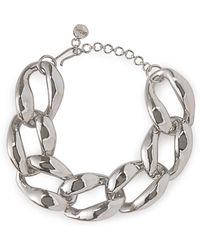 MISHO - Chunky Chain Choker Necklace - Lyst