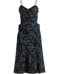 Altuzarra - Menara Floral Print Dress - Lyst