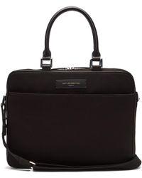 """Want Les Essentiels De La Vie - Haneda 15"""" Organic Cotton And Leather Laptop Bag - Lyst"""