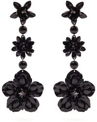 Isabel Marant | Aloha Flower And Bead-embellished Earrings | Lyst