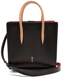 Christian Louboutin - Paloma Small Leather Tote - Lyst