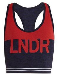 LNDR - Cadet Compression Performance Bra - Lyst