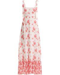 Athena Procopiou - Robe longue en soie Sundown Breeze - Lyst