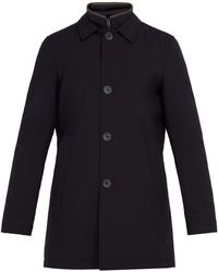 Herno - Single-breasted Quilted Coat - Lyst
