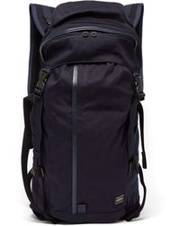 Porter Tanker Quilted Satin-canvas Backpack in Metallic for Men - Lyst 8cc23ba68c24e