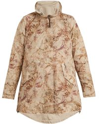 Woolrich - Reversible Palm-print Shell Jacket - Lyst