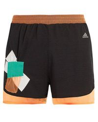 adidas Originals - Climachill Layered Shorts - Lyst