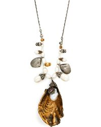 Alexander McQueen - Oyster Baroque Pearl Necklace - Lyst