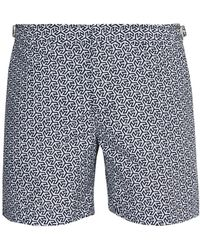 Orlebar Brown - Geometric Print Swim Shorts - Lyst