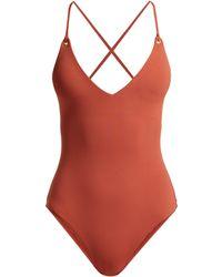 781902f104902 Melissa Odabash - Catalina Lace Back Swimsuit - Lyst