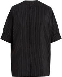 Haider Ackermann   Oversized Pin-stripe Shirt   Lyst