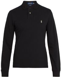 Polo Ralph Lauren - Long Sleeve Slim Fit Polo - Lyst