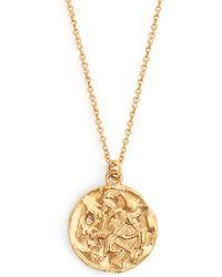 Alighieri - Sagittarius Gold Plated Necklace - Lyst