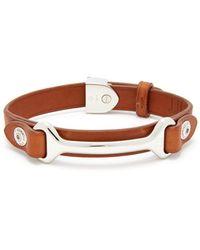 Dunhill - Leather Bracelet - Lyst
