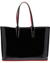 Christian Louboutin - Cabata Patent Leather Tote - Lyst