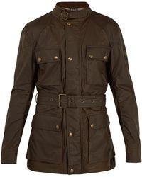 Belstaff - Roadmaster Patch-pocket Waxed-cotton Jacket - Lyst