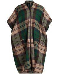 Vivienne Westwood - Checked Tweed Coat - Lyst