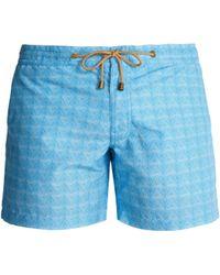 Thorsun - Titan Fit Triangle Print Swim Shorts - Lyst